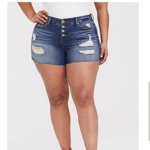 🎉NEW🎉HIGH RISE DISTRESSED SHORTS